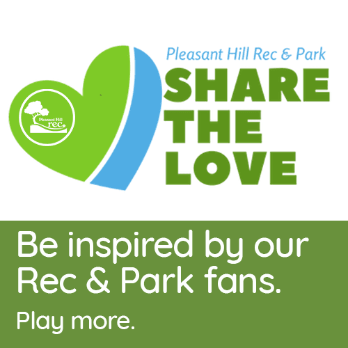 Share The Love logo with heart