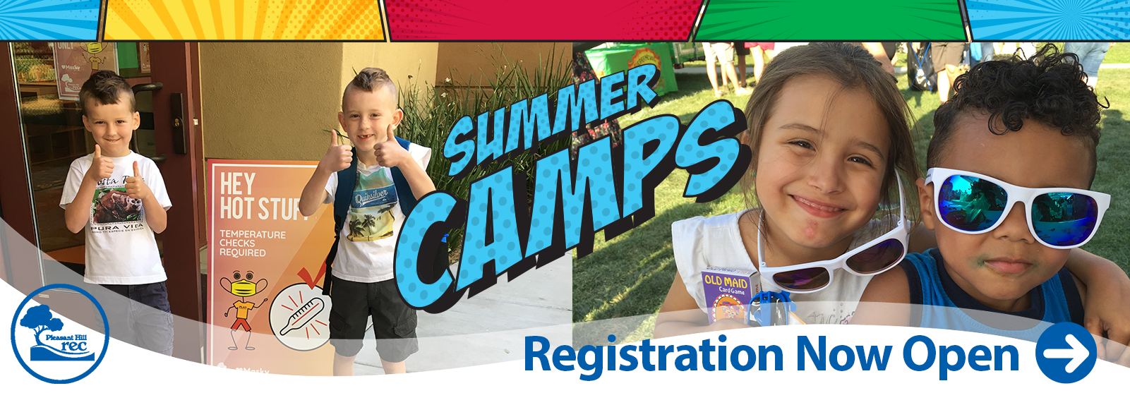 Summer Camp 2020 Banner Image