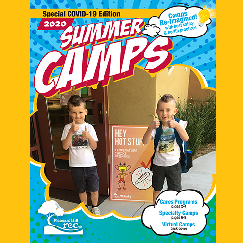 Cover of COVID-19 Summer Camp Guide